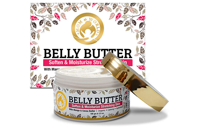 Mom and world belly butter