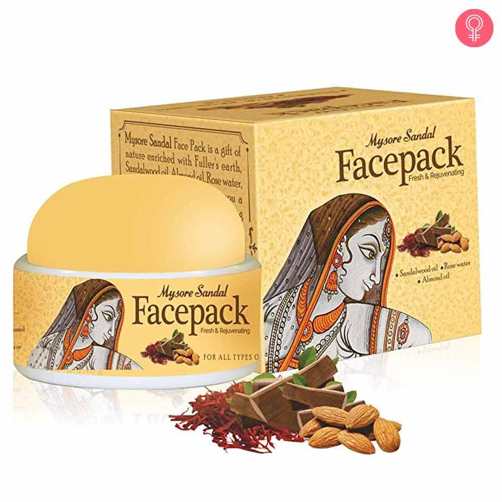 Mysore Sandal Face Pack Fresh & Rejuvenating