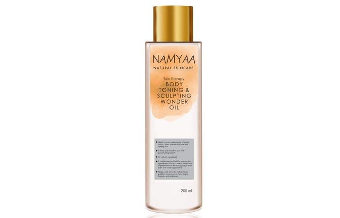 Namya Natural Skin Care Toning Sculpting Wonder Oil