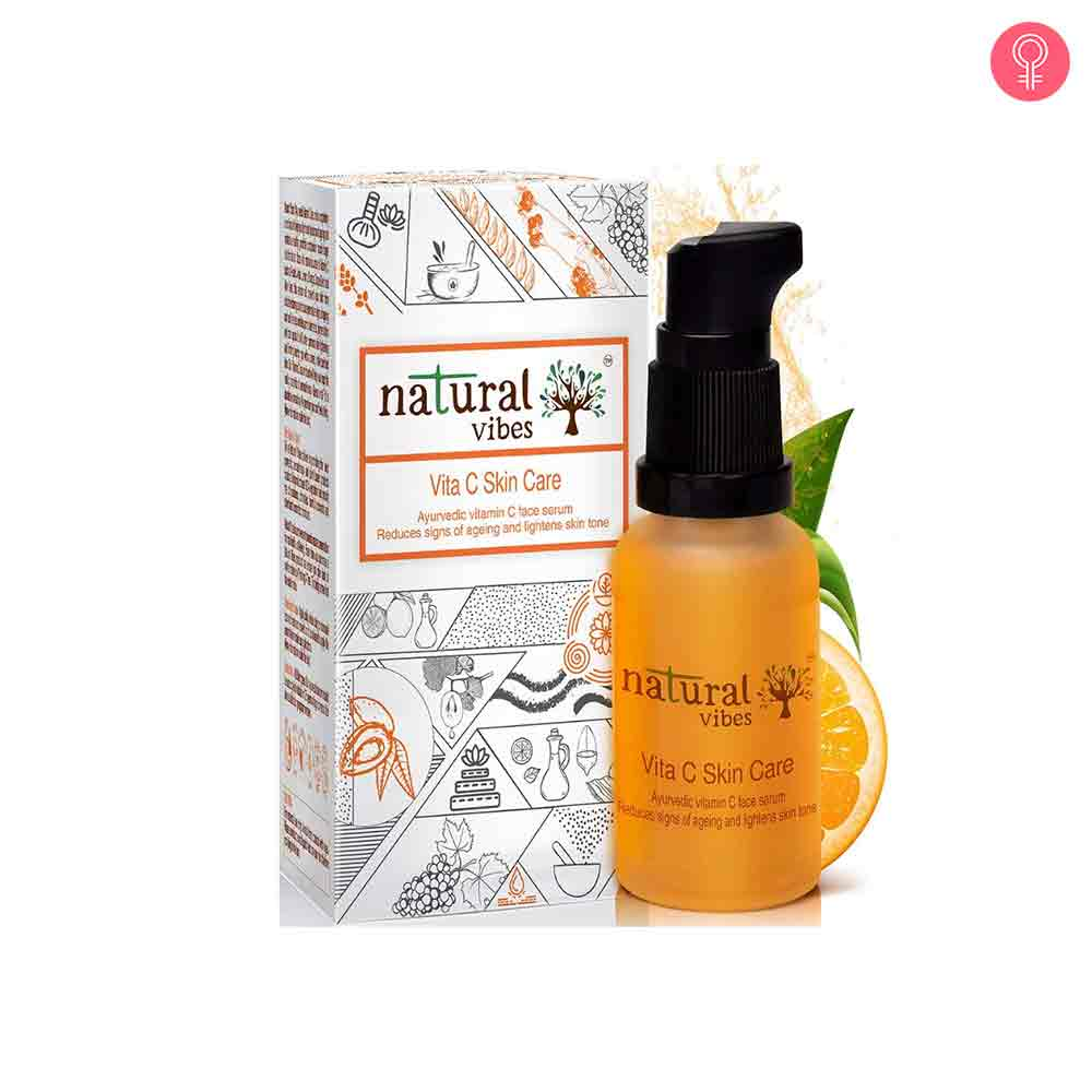 Natural Vibes Ayurvedic Vitamin C Skin Care Face Serum
