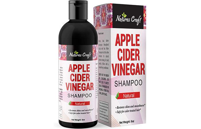 Nature's Craft Apple Cider Vinegar Shampoo