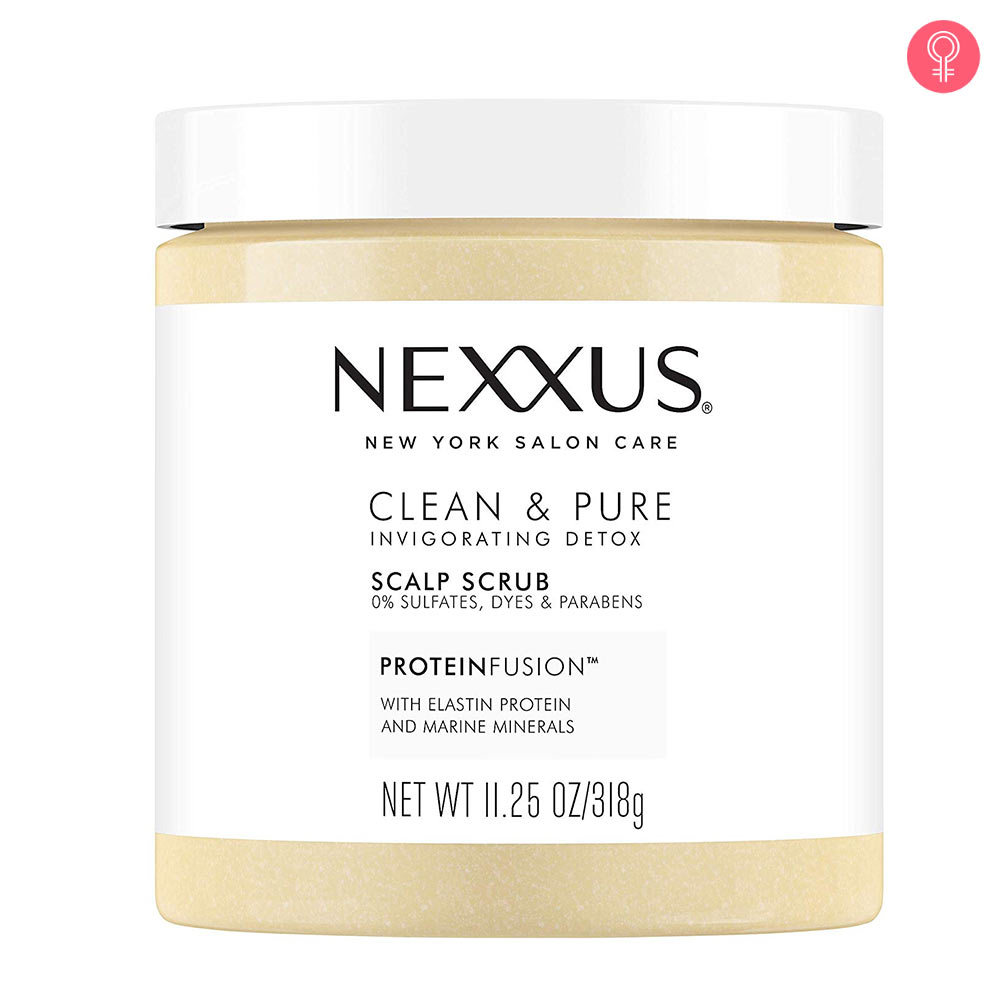 Nexxus Clean And Pure Invigorating Detox Scalp Scrub