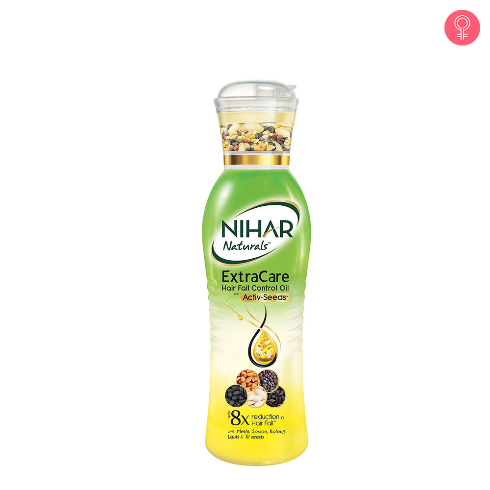 Nihar Naturals Extra Care Hairfall Control Oil