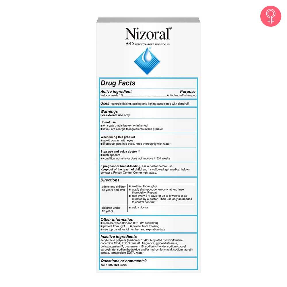 Nizoral AD Anti Dandruff Shampoo