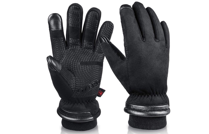 OZERO -30 ℉ Waterproof Winter Gloves For Men And Women