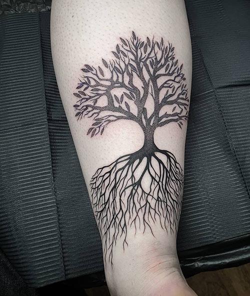 Oak Tree Of Life Tattoo