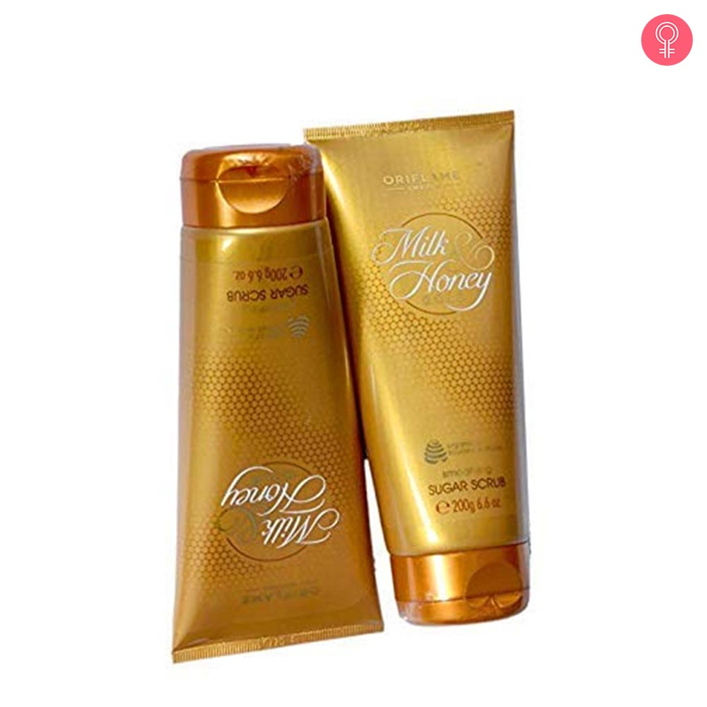 Oriflame Milk & Honey Gold Smoothing Sugar Scrub