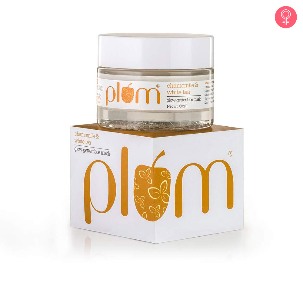 Plum Chamomile & White Tea Glow Getter Face Mask