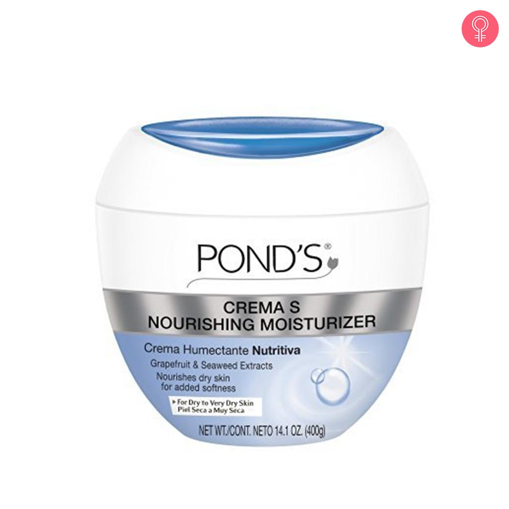 Ponds Crema S Nourishing Moisturizing Cream