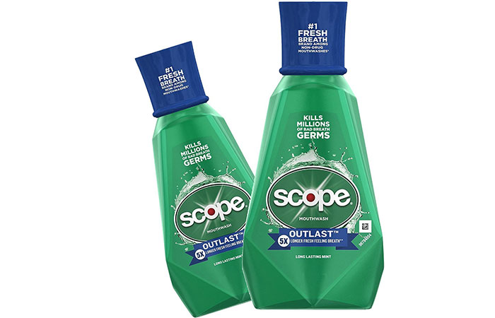 Procter And Gamble Scope Outlast Mouthwash