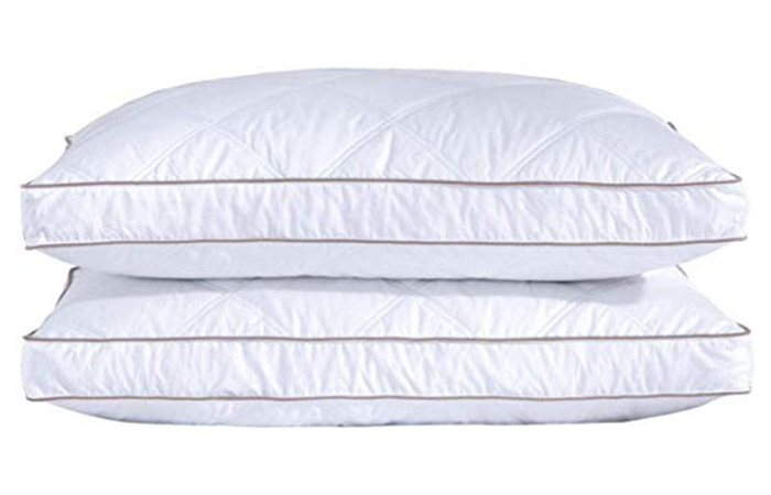 Puredown Natural Goose Down Feather Pillows