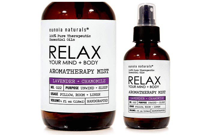 RELAX Lavender Pillow Spray