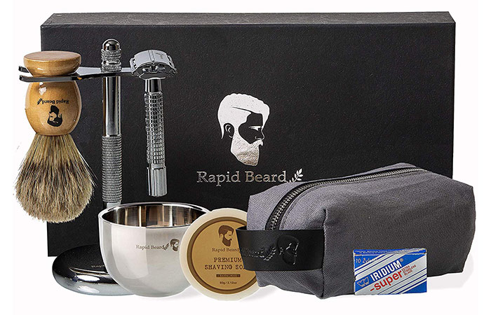 Rapid Beard Shaving Kit