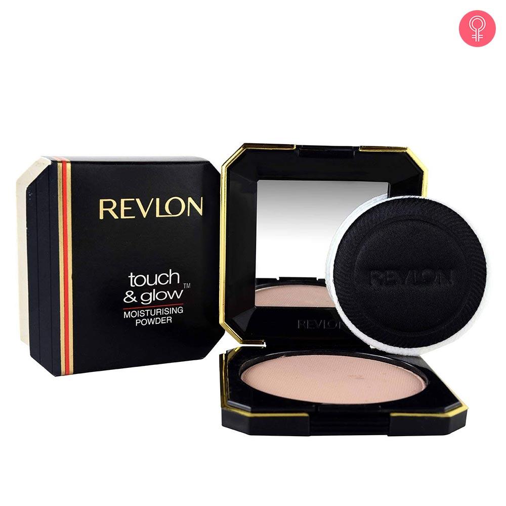 Revlon Touch & Glow Moisturising Powder Compact