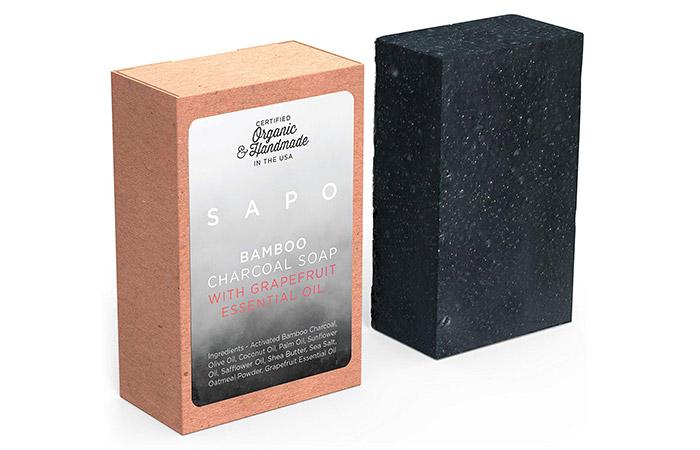 SAPO Bamboo Charcoal Soap