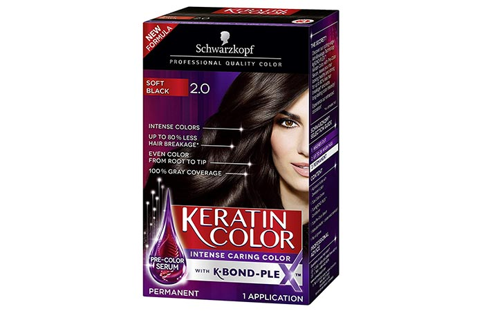Schwarzkopf Keratin Color Permanent Hair Color Cream