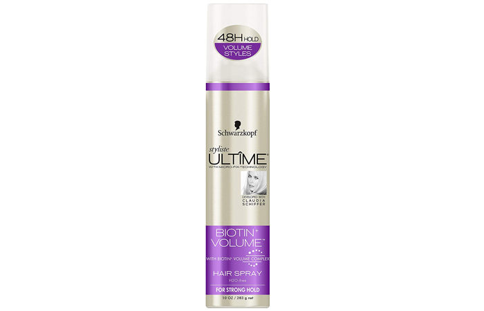 Schwarzkopf Ultime Styliste Biotin & Volume Hair Spray
