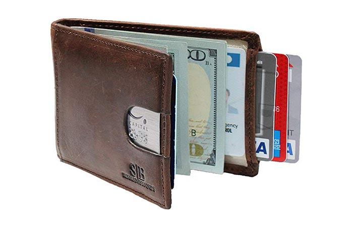 Serman Brands Front Pocket Wallet