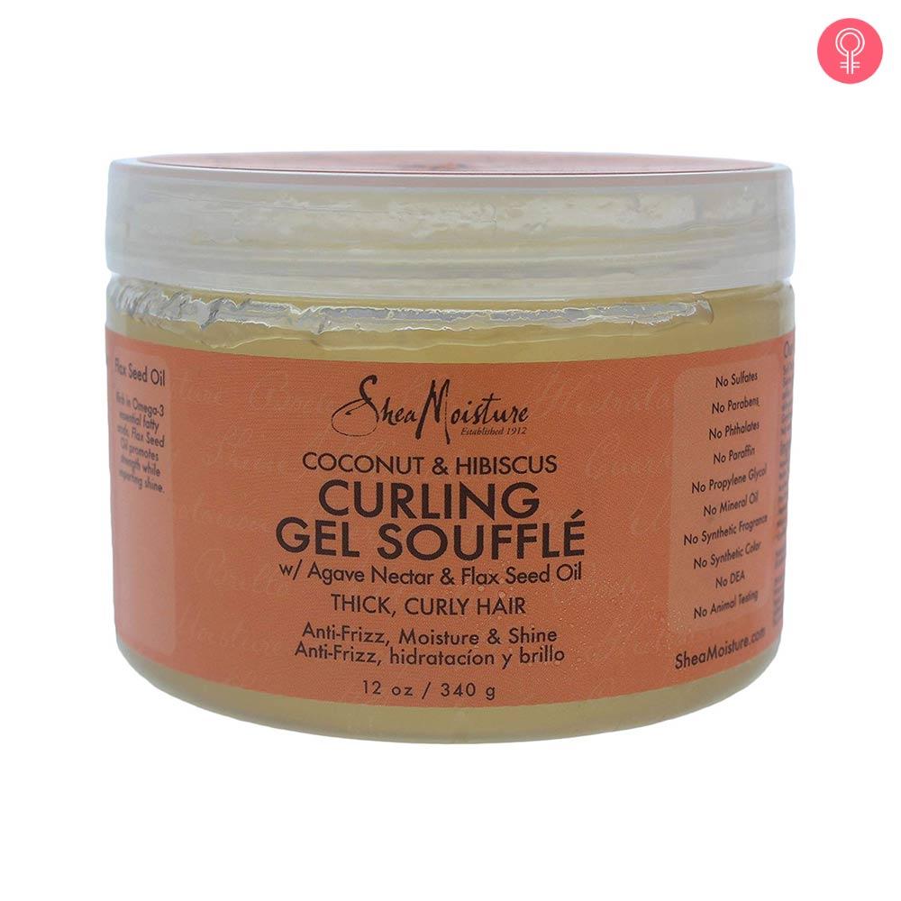 Shea Moisture Coconut & Hibiscus Curling Gel Souffle