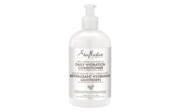 SheaMoisture 100% Virgin Coconut Oil Daily Hydration Conditioner