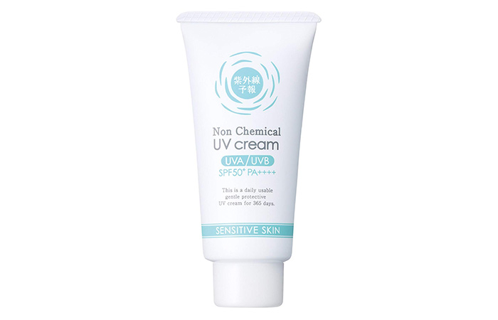 Shigaisen Yohou No-Chemical UV Cream
