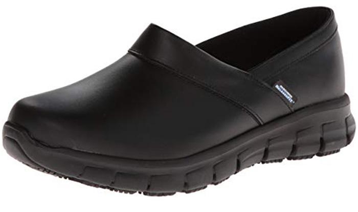 Skechers Work Footwear Women's Relaxed Fit Slip With Memory Foam