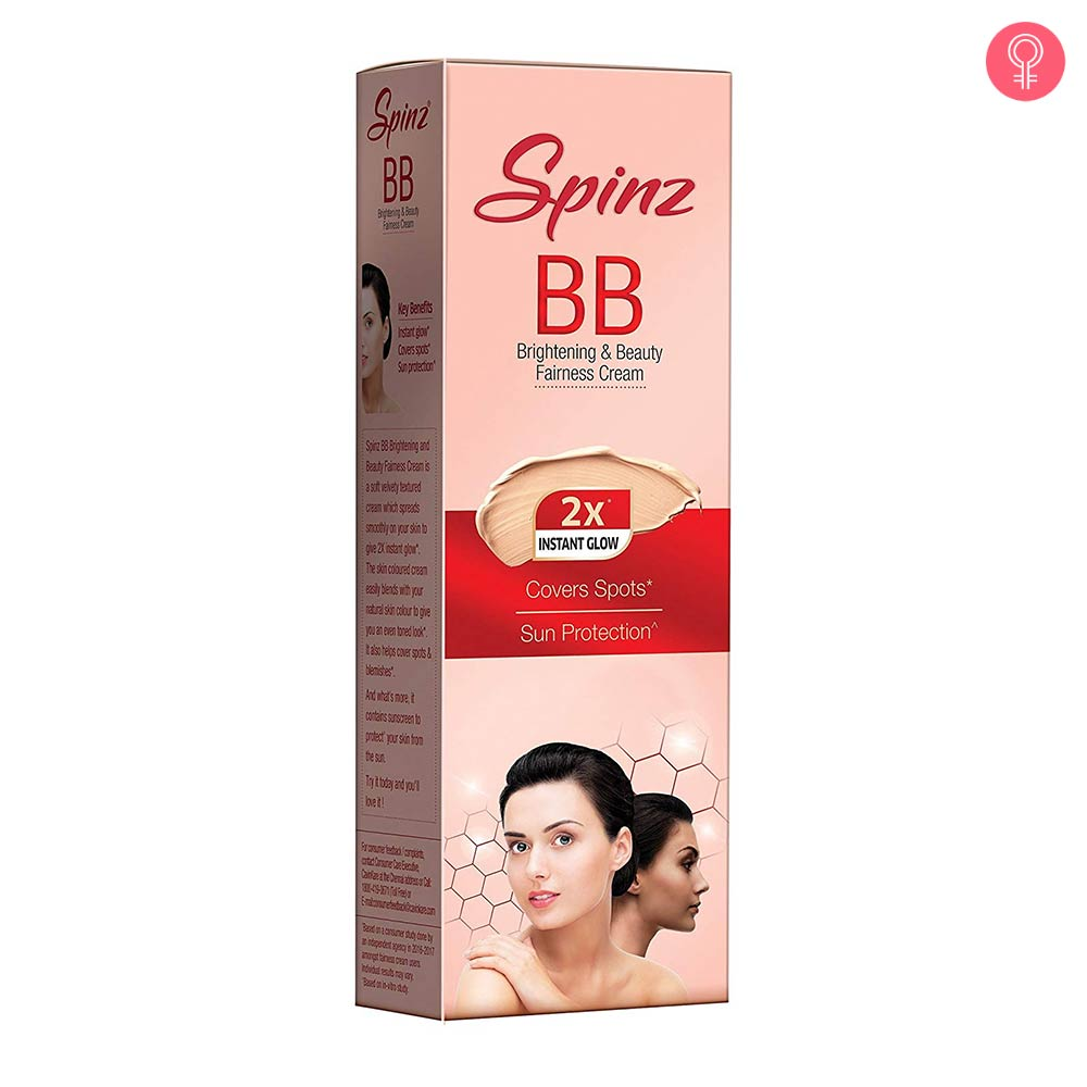 Spinz BB Brightening and Beauty Fairness Cream