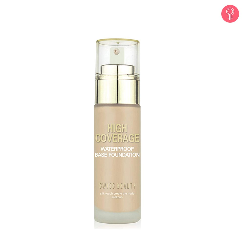 Swiss Beauty High Coverage Waterproof Base Foundation