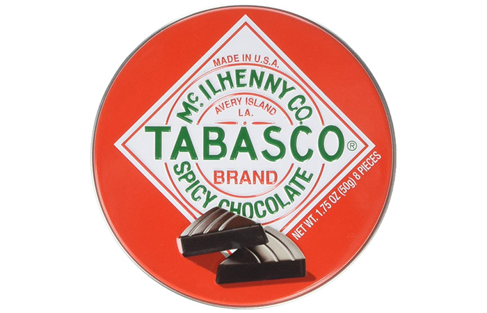 Tabasco - Spicy Dark Chocolate Wedges