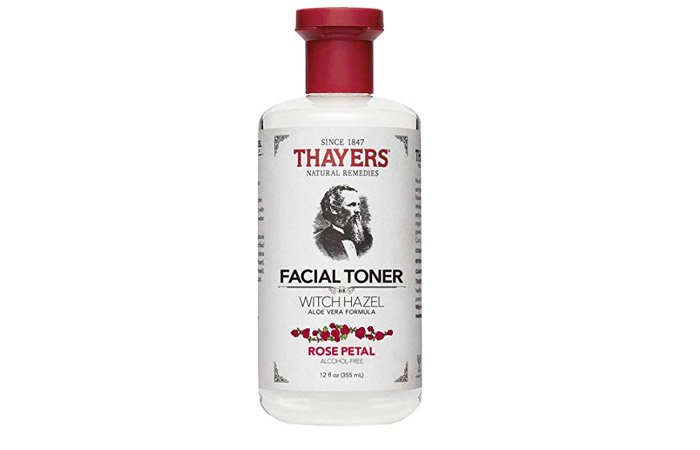 Thayers Natural Remedies  Facial Toner Witch Hazel with Aloe Vera