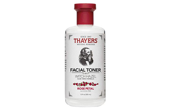 Thayers Natural Remedies Rose Petal Facial Toner With Witch Hazel And Aloe Vera