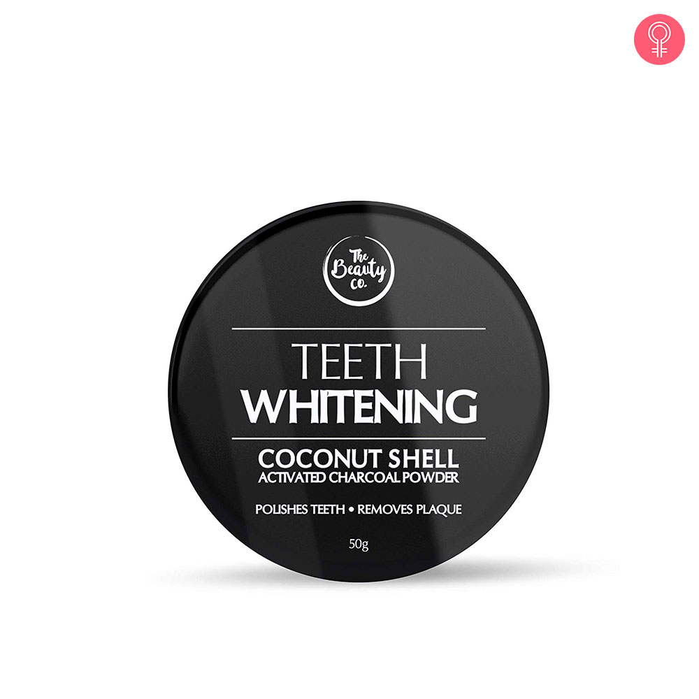 The Beauty Co. Coconut Shell Activated Charcoal Teeth Whitening Powder