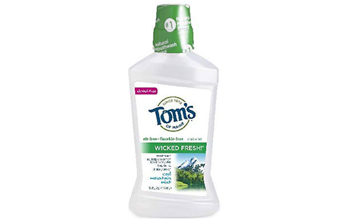 Toms Of Maine Wicked Fresh MouthWash