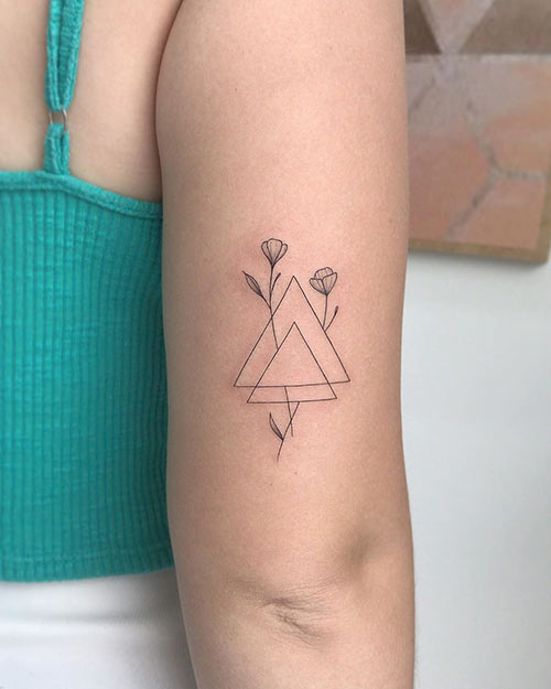 Two Triangles Tattoo