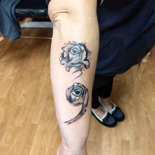 Unique Semicolon Tattoo