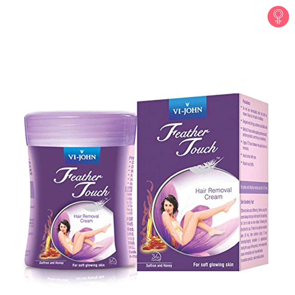 VI-JOHN Feather Touch Hair Removal Cream