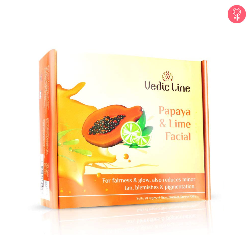 Vedic Line Papaya & Lime Facial