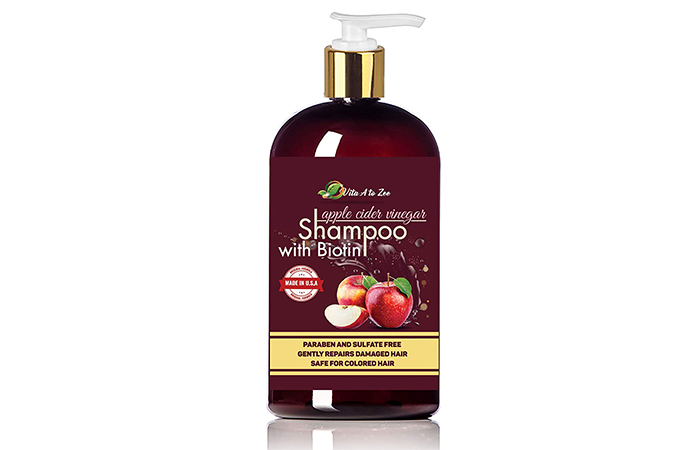 Vita A to Zee Apple Cider Vinegar Shampoo With Biotin