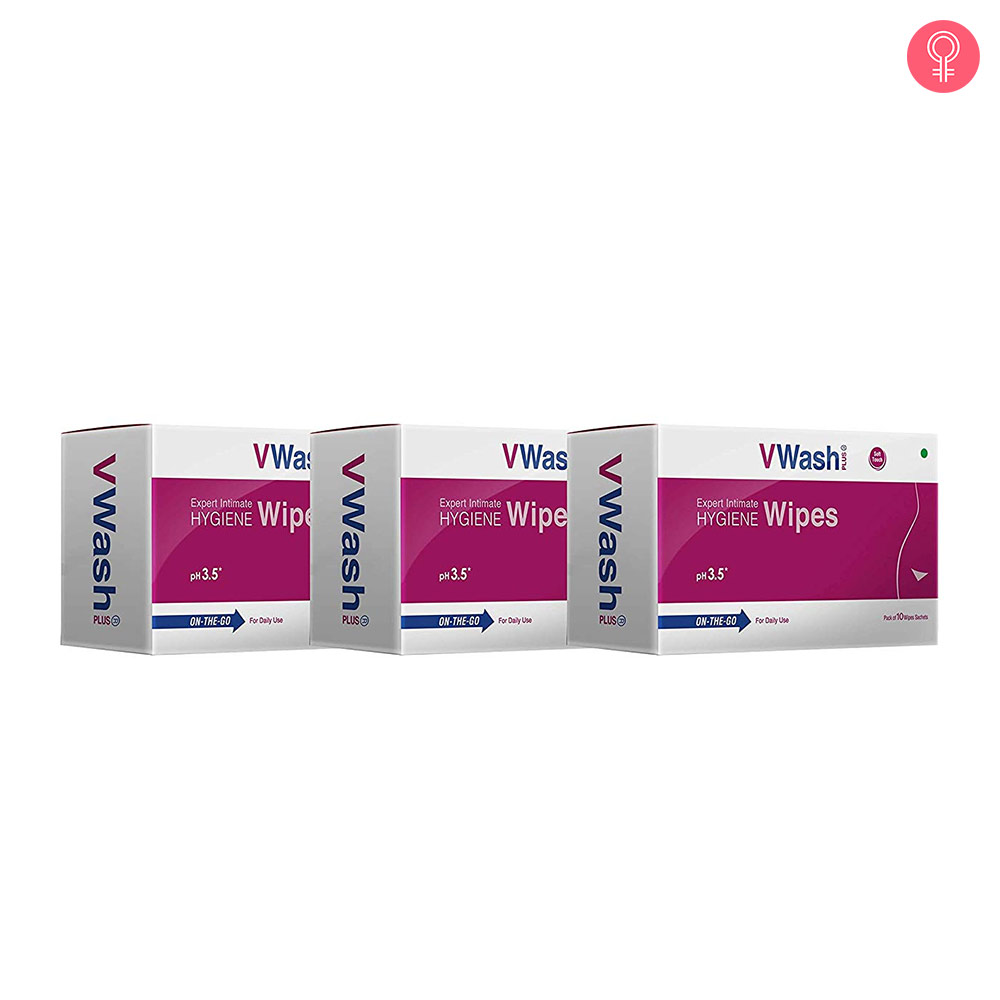 Vwash Plus Intimate Hygiene Wipes