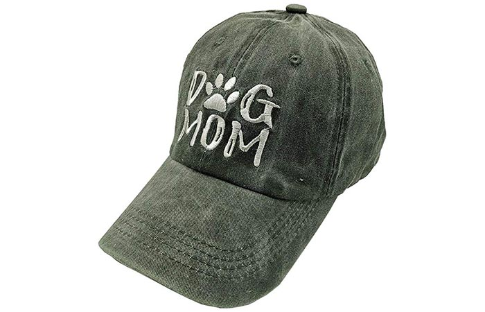Waldeal Women's Embroidered Adjustable Denim Baseball Cap