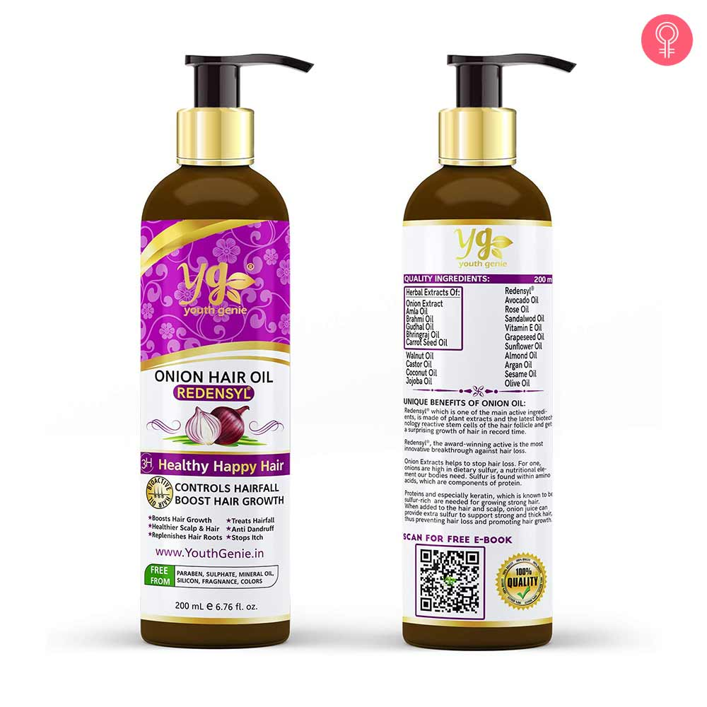 Youth Genie Pure Onion Oil With Redensyl