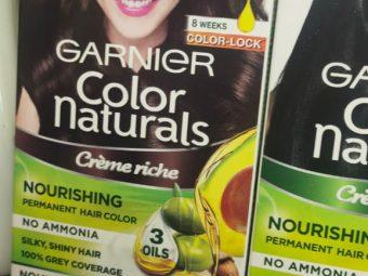 Garnier Color Naturals Creme Hair Color -Natural creme color-By garimabagga