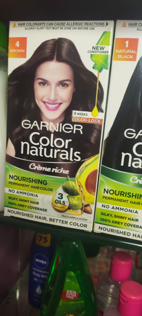Garnier Color Naturals Creme Hair Color-Natural creme color-By garimabagga