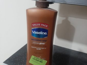 Vaseline Intensive Care Cocoa Glow Body Lotion -Cocoa glow body lotion-By garimabagga