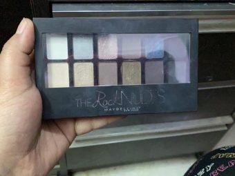 Maybelline New York The Nudes Eyeshadow Palette -Maybelline eyeshadow palette-By garimabagga