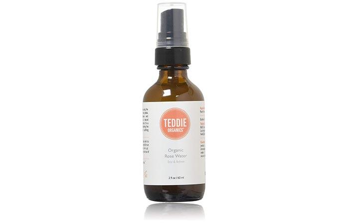 eddie Organics Rose Water Facial Toner Spray
