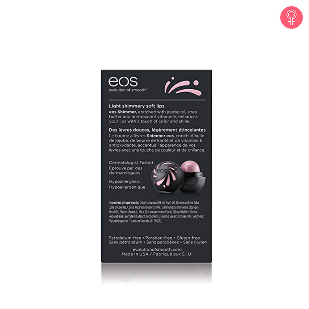 eos Shimmer Lip Balm Sphere