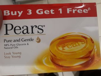 Pears Pure And Gentle Soap pic 1-pure and gentle-By manju_