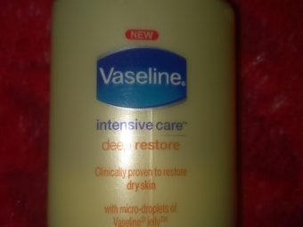Vaseline Intensive Care Deep Restore Body Lotion -Best lotion-By kamy