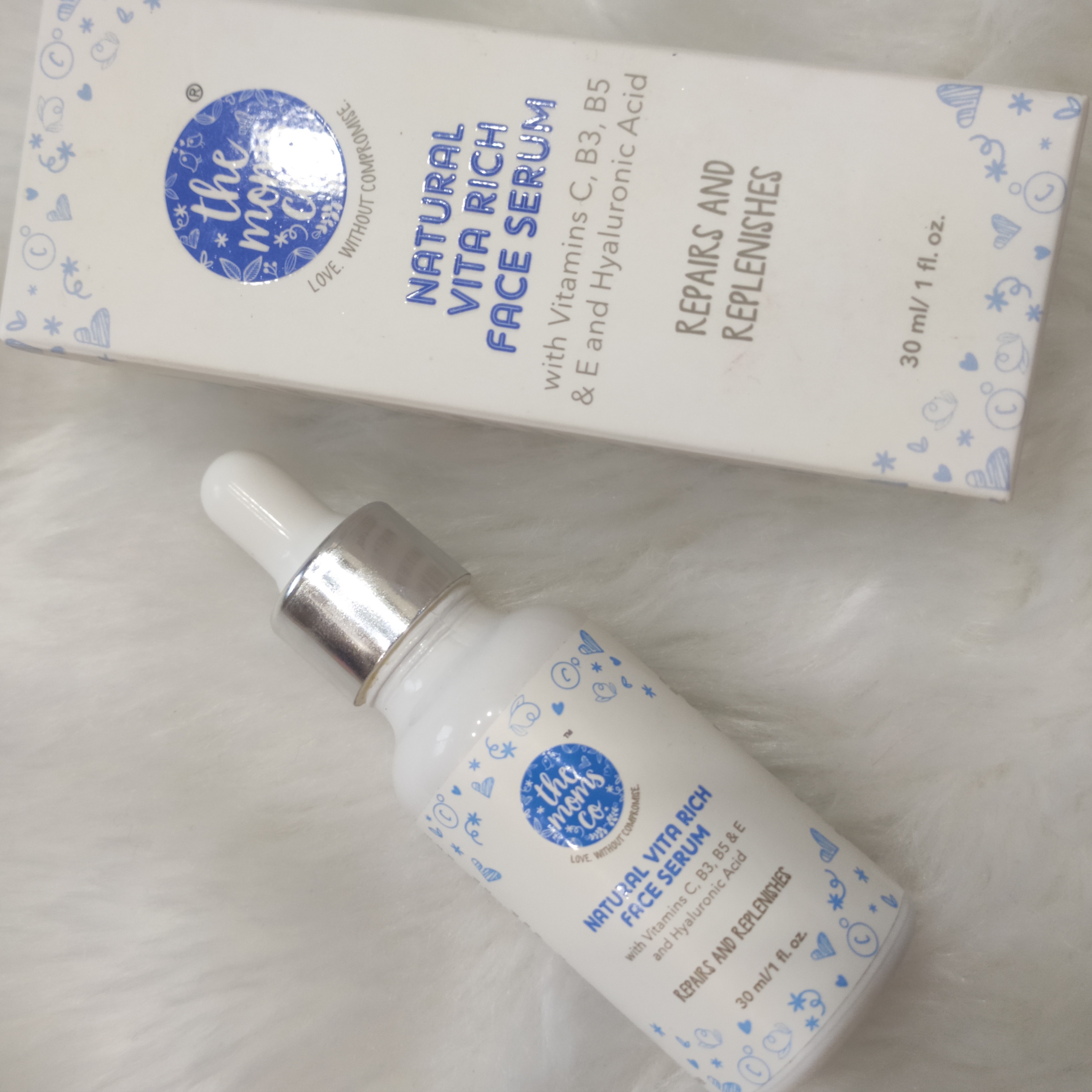 The Moms Co. Natural Vita Rich Face Serum-Perfect Dupe For The Farsali Skintune Blur-By nameera_junani-1